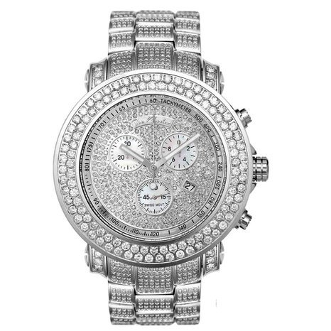 Joe Rodeo JJU36 Junior Diamond Watch, White Dial