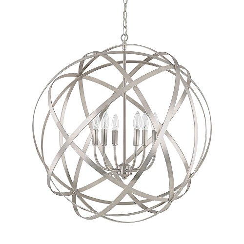 Capital Lighting 4236Bn Six Light Pendant