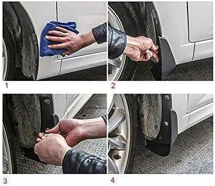 4pcs Garde-boue Garde-boue Boue arri/ère avant voiture Rabats for Kia Soul 2009 2010 2011 2012 2013 Auto Accessoires