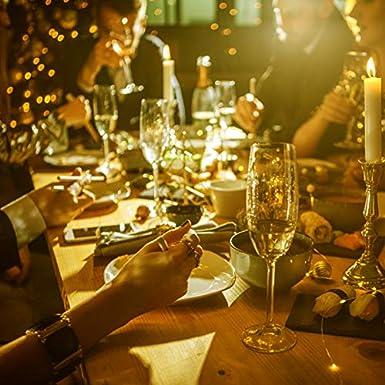 Kolpop 3m 30 LED Guirnalda Pilas (6 pack), Luces LED a Pilas Decoracion de Alambre de Cobre Luces para Entorno Romántico en Boda, Fiestas, Cumpleaños, ...