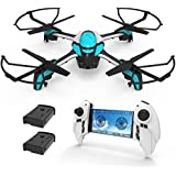 KAI DENG K80 RC Drones with 2MP 720P Camera , Altitude Hold, Headless Mode, Easy for Beignners