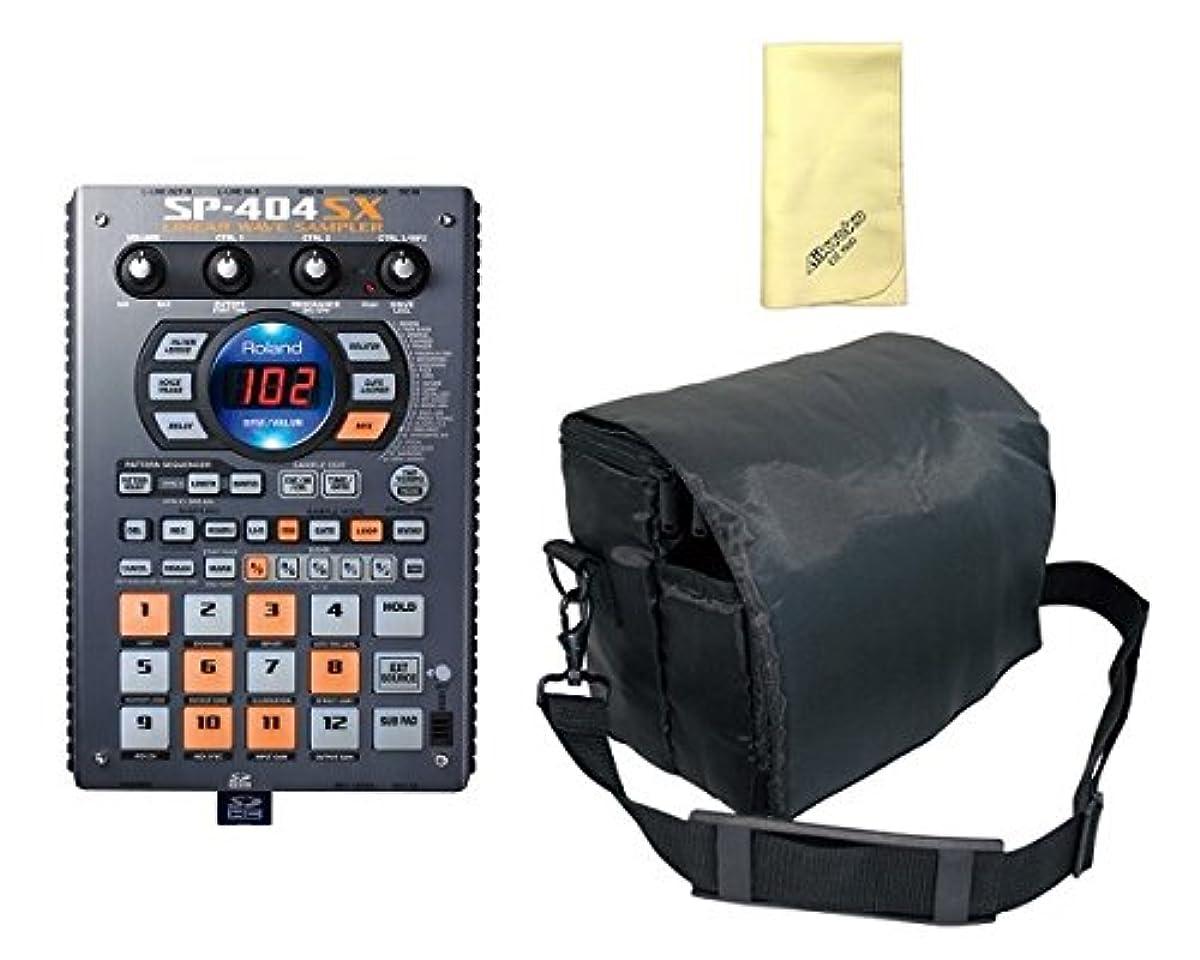 [해외] 【애곡크로스(ROSS) 포함부】【범용 소프트 케이스 첨부】ROLAND/로랜드 SP-404SX 샘플러