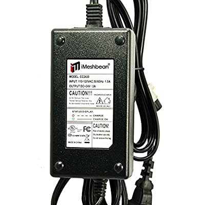 iMeshbean 24V 2A Bike Scooter Battery Charger for Currie e-Ride : Sports Scooter Battery Chargers : Sports & Outdoors