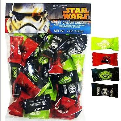 Star Wars Sweet Cream Candies NET WT 7oz (Star Wars Candy)
