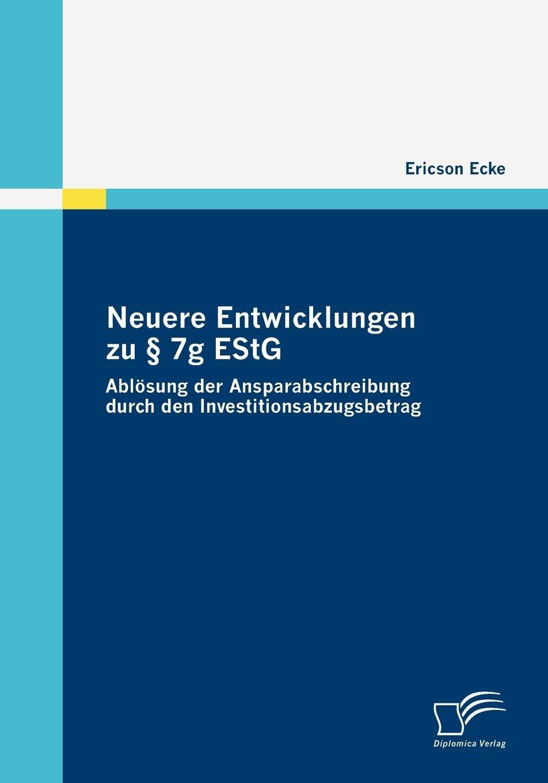 Neuere Entwicklungen zu § 19g EStG: Ablösung der Ansparabschreibung