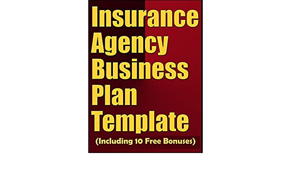 Amazoncom Insurance Agency Business Plan Template Including - Insurance agency business plan template