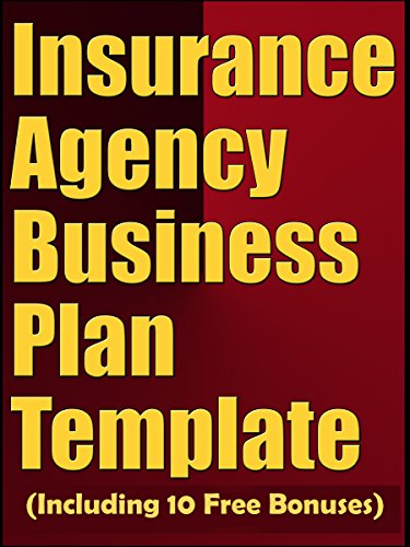 Amazon insurance agency business plan template including 10 insurance agency business plan template including 10 free bonuses by business plan expert accmission Choice Image