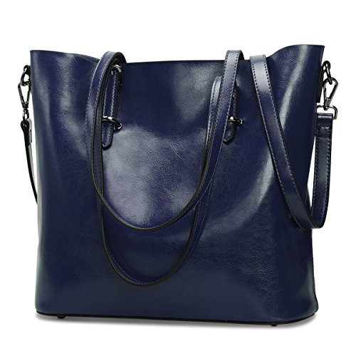 S ZONE Leather Handbag Shoulder Messenger