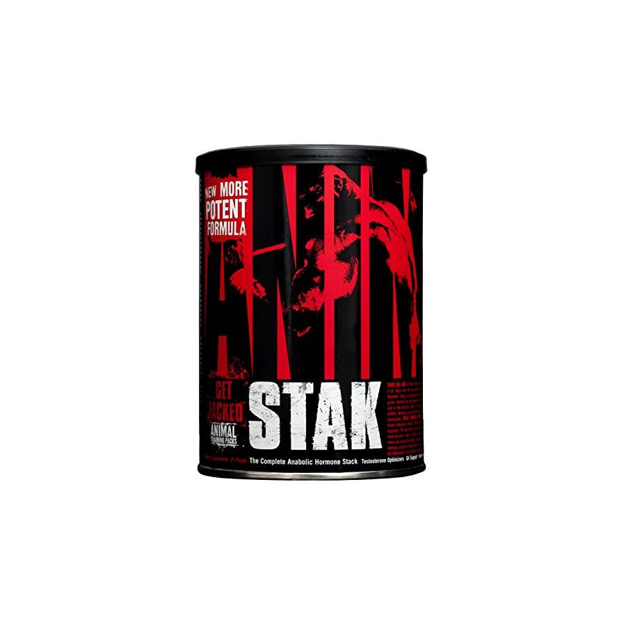 Animal Stak Natural Hormone Booster Supplement with Tribulus and GH Support Complex