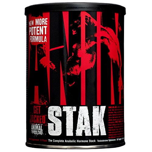 Workout Stack - Universal Nutrition Animal Stak Natural Hormone Booster Supplement (Packaging May Vary)