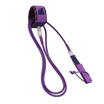 D DOLITY Correa para Tabla de Surf Material de TPU Tamaño y Color Opcional - Púrpura