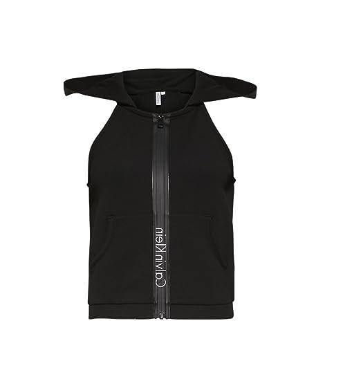 Calvin Klein - Sudadera con Capucha - para Mujer Negro XL: Amazon.es: Ropa y accesorios