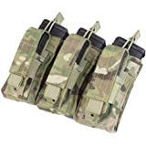 Condor Triple Kangaroo Magazine Pouch holds (3) M4/M16 Mag, (3) Pistol Mag