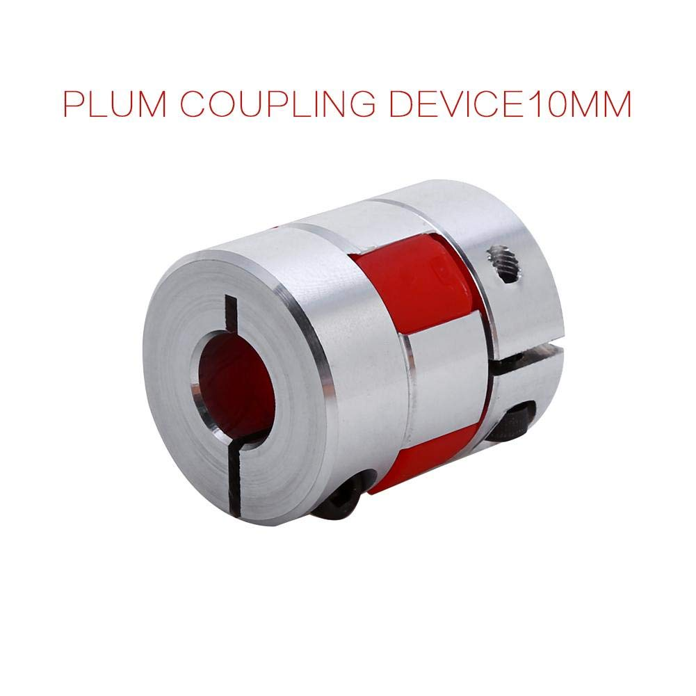 Flexible Clamp Plum Shaped Elastic Coupling Coupler 8/×8mm Aluminum Coupling Shaft Connect For Stepper Motor Plum Coupling Shaft