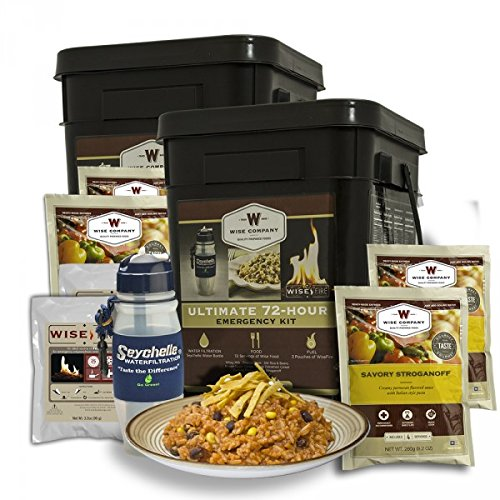 Wise Company 05-715 72 Hour Ultimate Kit Bucket