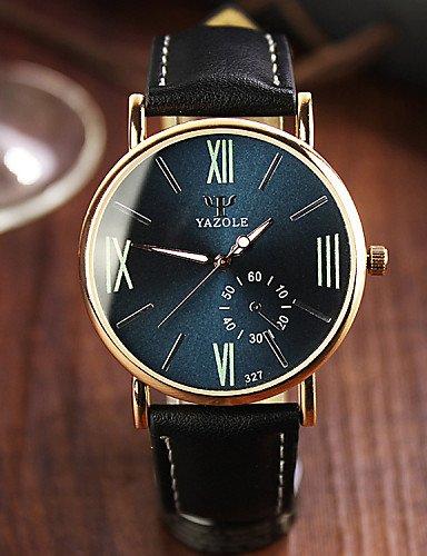 QFDZHS®2016 hombres reloj de cuarzo relojes relojes de lujo famoso reloj de pulsera reloj de pulsera de cuarzo-masculina luminosa del reloj del ...