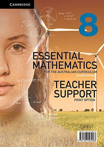 Essential Mathematics for the Australian Curriculum Year 8 2ed Teacher Support Print Option