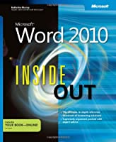 Microsoft Word 2010 Inside Out Front Cover