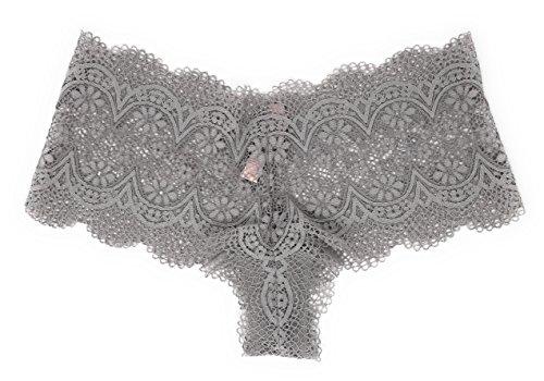f37ca69c6b Victoria s Secret Crochet Lace Sexy Shortie Panty Stone Medium