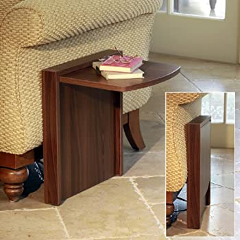 Amazon Com Tuc Away Tables Folding End Table Brown