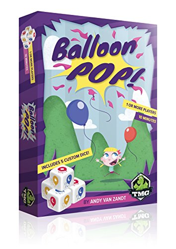 Tasty Minstrel Games Balloon Pop Dice Game ()