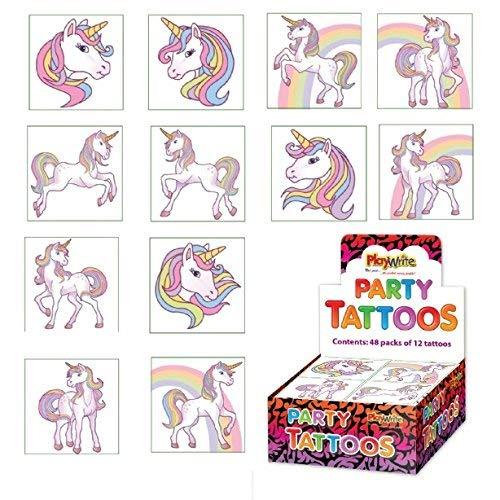 MERMAIDS HENBRANDT Temporary Tattoos 12 x 1 pack = 12 Tattoos supplied