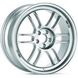 18x9 Enkei RPF1 (F1 Silver) Wheels/Rims 5x112 (3798904435SP)
