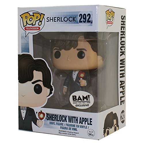 Funko - Figurine Sherlock - Sherlock avec sa pomme Exclu Pop 10cm - 084980306