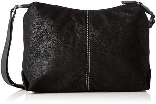 s.Oliver (Bags) City Bag, Borse a tracolla Donna Nero (Black)