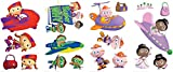 Super Why Room Decor - Removable Wall Decorations