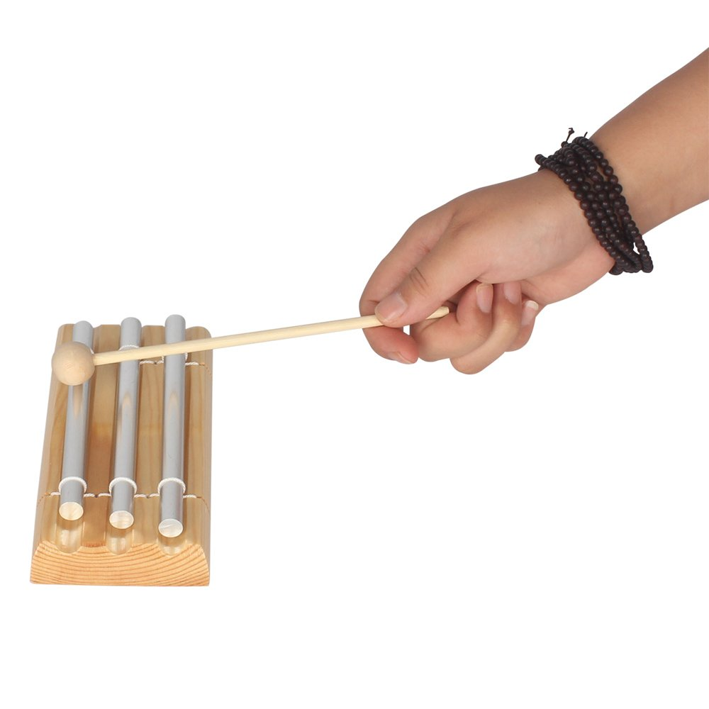 WINGONEER Energy Chime Three Tone with Mallet Exquisite Musical Percussion Instrument by WINGONEER® (Image #6)