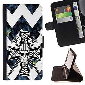Dragon Case - FOR Apple Iphone 6 - Love you sixty seconds - Caja de la carpeta del caso en folio de cuero del tir¨®n de la cubierta protectora Shell