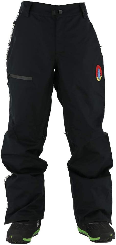 【686】シックスエイトシックス Track Pant メンズ スノーパンツ スノーウェア スノーボードウエア ボトムス 黒 Medium