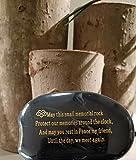 "Memorial Gift - Engraved Memorial Stone ""May this"
