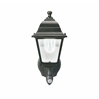 Maxsa 44219 Black Battery-Powered Motion-Activated Wall Sconce: Automotive