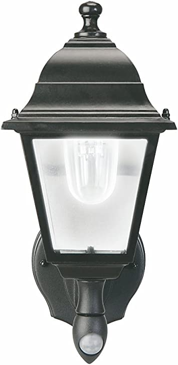 Amazon Com Maxsa 44219 Battery Powered Motion Activated Wall Sconce In Black Automotive
