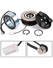 3mirrors AC COMPRESSOR Clutch KIT Front Plate Bearing & Coil Compatible with 2004-2009 MAZDA 3 5 CX-7 2.0L 2.3L