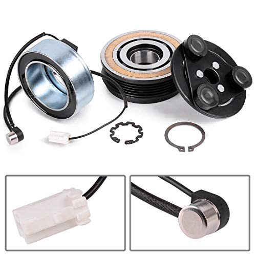 AC COMPRESSOR Clutch KIT Front Plate Bearing & Coil Fits for 2004 2005 2006 2007 2008 2009 MAZDA 3 5 CX-7 2.0L 2.3L