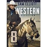 DVD : 8-Movie Western Collection featuring Sam Elliott