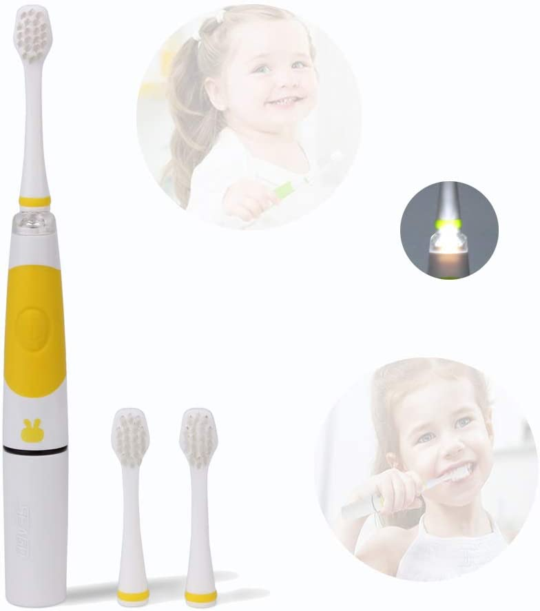 Liangus Smart Kids Sonic Electric Toothbrush Battery Powered