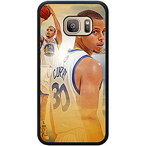 S7 TPU Phone Case,Stephen Curry Basketball Popular Gifts Case Cover for Samsung Galaxy S7 (Black) Sales