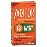 Zaditor Eye Itch Relief Antihistamine Eye Drops - 0.17 fl oz, Pack of 4
