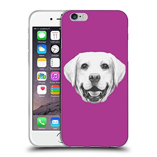 "GoGoMobile Coque de Protection TPU Silicone Case pour // Q05370621 Portrait labrador byzantin // Apple iPhone 6 4.7"""