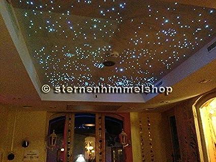 Faretti da incasso illuminazione motivo cielo stellato in fibra