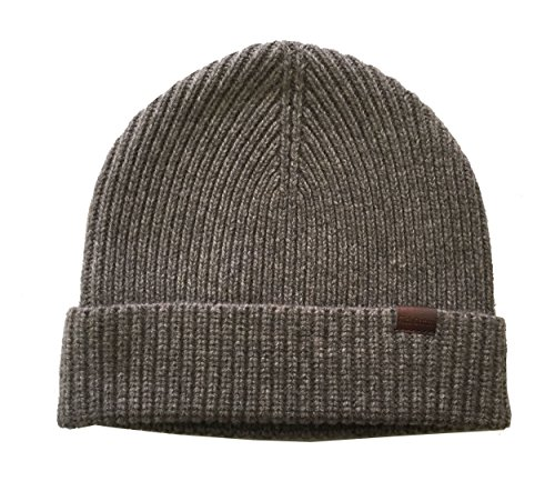 (Rich Cotton Merino Wool Beanie (Dusk Grey))