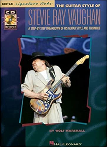 Amazon The Guitar Style Of Stevie Ray Vaughan Signature Licks 0073999951554 Books