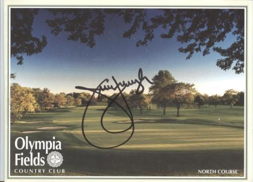 Jim Furyk Autographed Olympia Fields Country Club Golf Scorecard - 2003 U.S. Open Champion