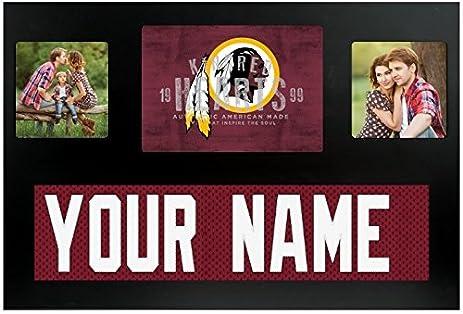 Amazon.com - Washington Redskins NFL Custom Jersey Nameplate and ...