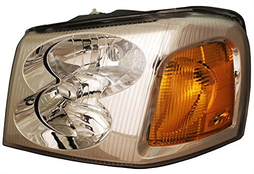 New Left Headlamp Headlight (Gmc Envoy 02-09 Left Driver Side Lh Headlight Headlamp New Lens & Housing)
