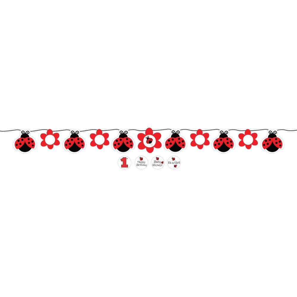 Amazon.com: Creativas Conversión Ladybug Fancy Círculo cinta ...